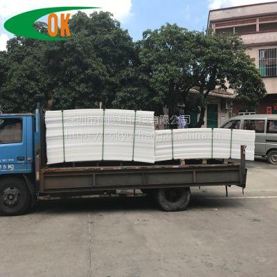 深圳厂家生产白色食品级pp板 可来图来电定制尺寸 pp板雕刻加工定制
