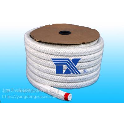 供应陶瓷纤维绳方编绳、陶纤绳、陶瓷纤维盘根、密封条