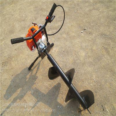 林业植树专用挖坑机 锰钢耐磨挖坑机钻头机