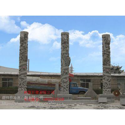 石雕龙柱雕刻制作价格神画石雕有限公司