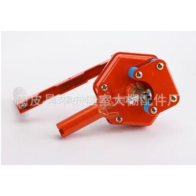 沧州厂家生产大棚卷膜器 供应塑料大棚韩式侧用手动通风卷膜器