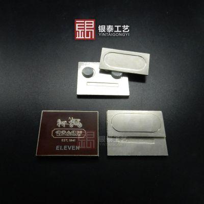 深圳银泰工艺纯银徽章定做 金属徽章定做厂家