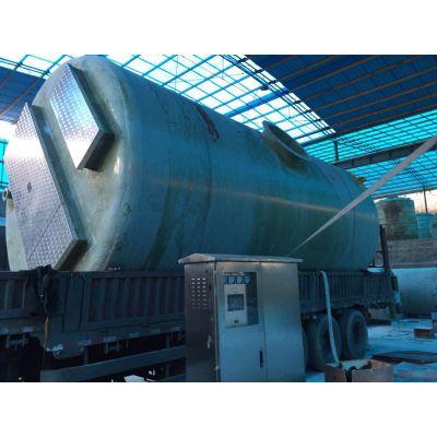 重庆渝中一体化污水提升泵站生产厂家 沃利克污水处理设备