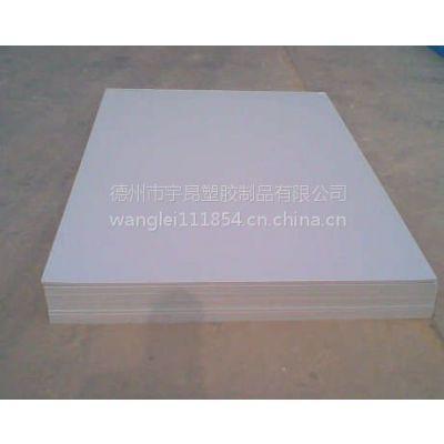 山东宇昂白色hdpe板 全新料高密度聚乙烯板 pe板材 塑料板材