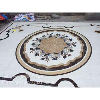 专业厂家定做微晶石仿古砖 陶瓷 大理石水刀拼花