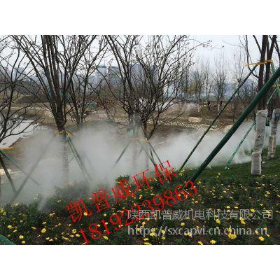 西安造景造雾凯普威工程承包人造雾景点园林景观喷雾
