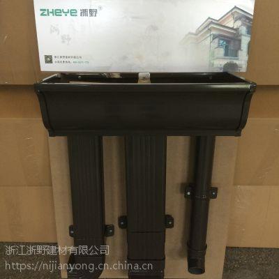 厂家直接供应烟台浙野铝合金方形雨水管