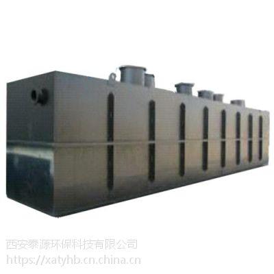 买污水处理设备不能只图便宜-泰源环保甘肃化工厂污水处理设备采用加厚碳钢材质使用年限长