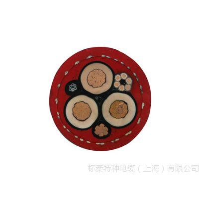 复合卷筒电缆 三合一卷盘圆电缆