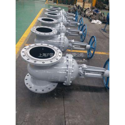 上海沪宣 Z41H-16C DN200 碳钢法兰闸阀