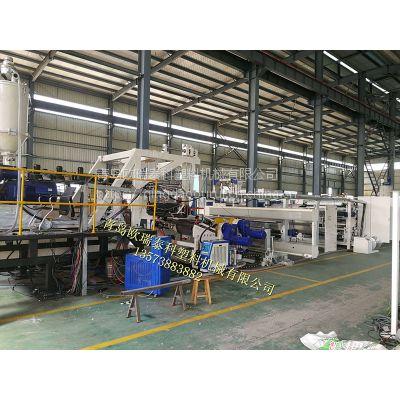 供应两辊pvdf流延膜生产线设备