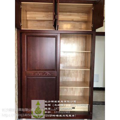 湖南实木家具工厂整木百叶门、鞋柜定制质量领先 长沙定制实木家具价格