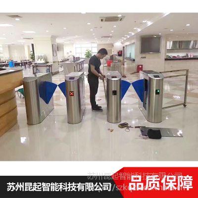 江苏昆起HM-ZG-10不锈阿钢翼闸指纹识别系统价格合理欢迎选购