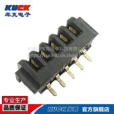 笔记本电池座连接器B04F母座5Pin 贴片式SMT 间距2.5PH