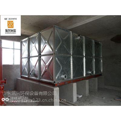 镀锌水箱 镀锌钢板水箱