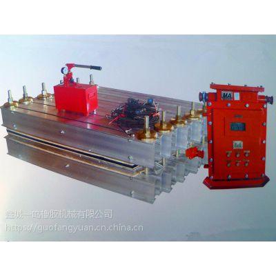 供应青岛鑫城1400*830橡胶输送带硫化接头机 接头机厂家
