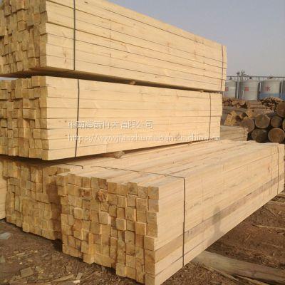 建筑桥梁专用铁杉木方批发 中南神箭 木质硬度 工地用方木