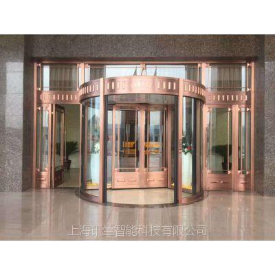 上海虹口区自动门安装三翼旋转门维修安装