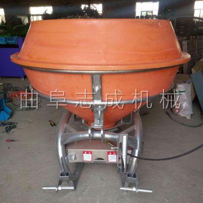 农作物新式追肥器 拖拉机后置大型撒播机 悬挂式小麦施肥机