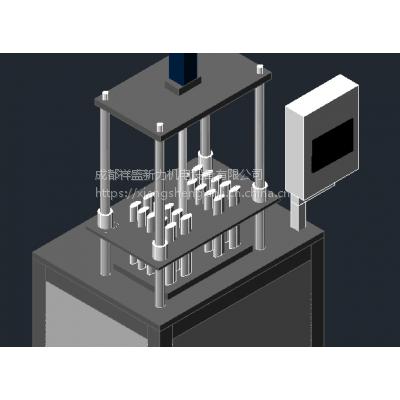 供应祥盛半自动PS700数控壁挂热交换器穿片机