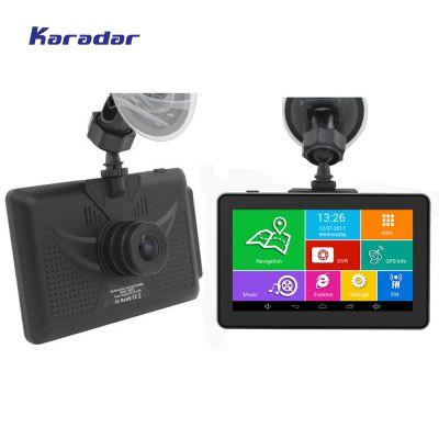 Karadar 汽车导航 行车记录仪 2合一功能 4.5寸高清屏 高清夜视24小时监控