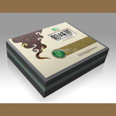 深圳茶叶平装盒专业印刷消费 龙泩印刷包装专为企业量身定制