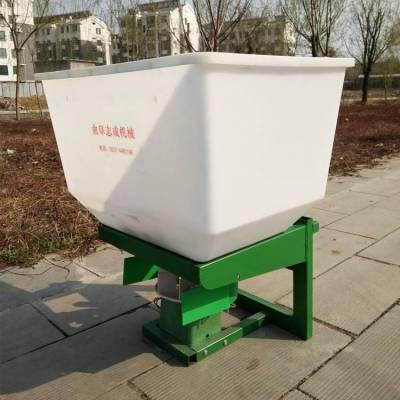 小麦播前撒肥机 120斤的电动前置追肥机 耕地专用颗粒肥撒播机