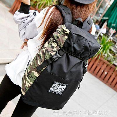 ins双肩包女背包大容量旅行学生书包韩版潮流男运动电脑包旅游包