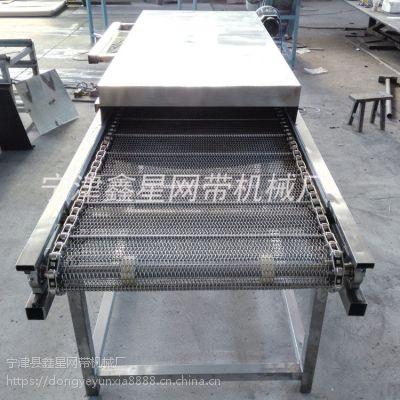 不锈钢输送链网生产线网链输送机的效用