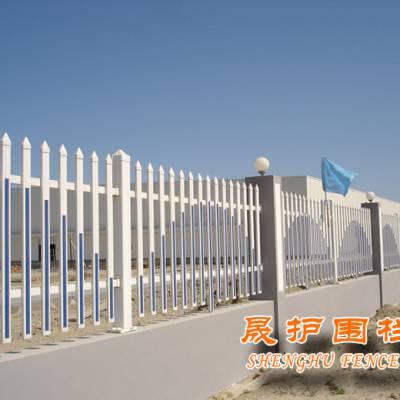 中山草坪护栏现货 PVC塑钢 清远园林栏杆