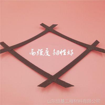钢塑复合土工格栅厂家销售国标50kn高抗拉耐腐蚀双向钢塑格栅价格