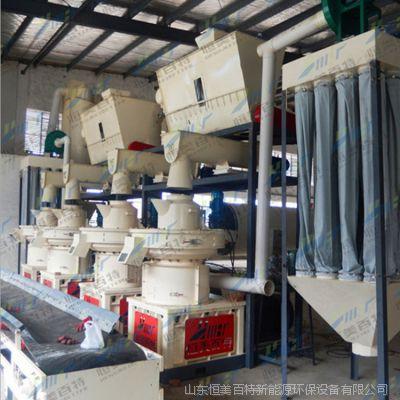 山东秸秆颗粒机厂家 生物质燃料颗粒生产线方案报价 产品图片