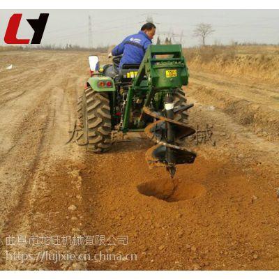 多功能便携式植树挖坑机 新款冻土层挖坑机