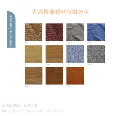 美莱尔教育耐磨pvc塑胶地板
