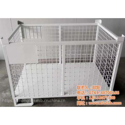 仓储笼_中蓝物流设备(图)_折叠金属仓储笼