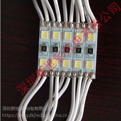 深圳新世彩光电供应质保3年铝基板超高亮迷你字专用2灯2835小模组