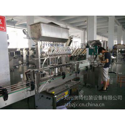 供应热销推荐 AT-L12直线式灌装机防腐灌装机常压自动灌装机