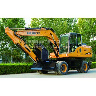 轮式挖掘机—恒特HT155W轮挖