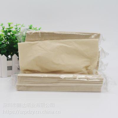 纸巾厂家直供 2层100抽150包一箱竹浆面巾纸本色抽纸批发