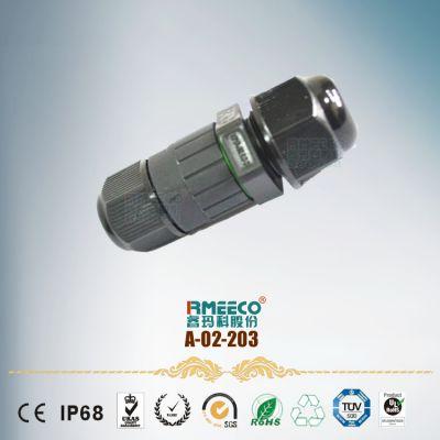 厂家直供不带线防水连接器 M16防水接头 螺丝压紧式防水接头