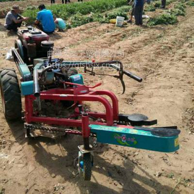 土豆薯类手扶收获机 花生链条式收获机