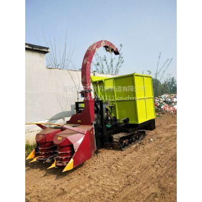 民耀厂家生产大型玉米秸秆收割青储机 履带式秸秆粉碎青贮机