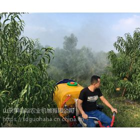 果哈哈G6C三角履带式果园喷雾机
