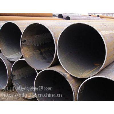 规格 609*16 长度12定尺双面埋弧焊直缝钢管在线生产中