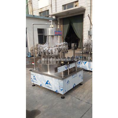 山东桶装醋灌装机直线式酱油醋灌装设备果酒饮料灌装机
