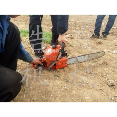 节省人工小型挖树机 锯齿式挖树机图片