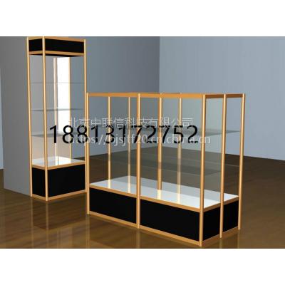 钛合金展柜 奖杯荣誉柜子 整体墙柜 钢化玻璃柜子厂家直销