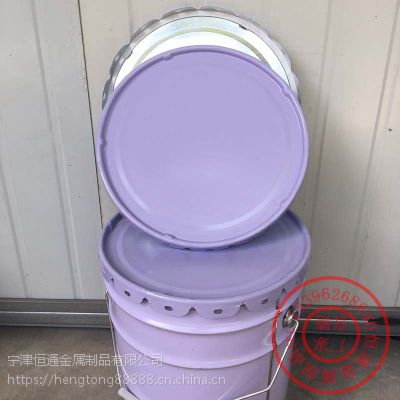 凌海溶剂铁桶18L马口铁桶铁桶厂家直销恒通