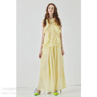 原创设计师品牌女装DELCHEN女装折扣批发