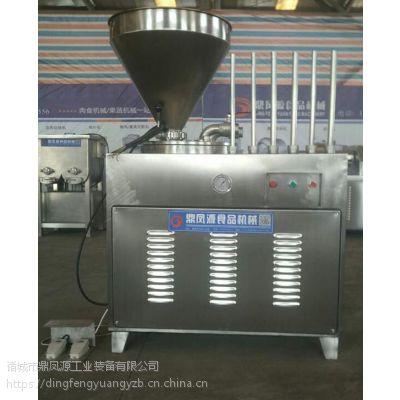 诸城灌肠机价格 鼎凤源30型液压灌肠机 说明书 出厂报价